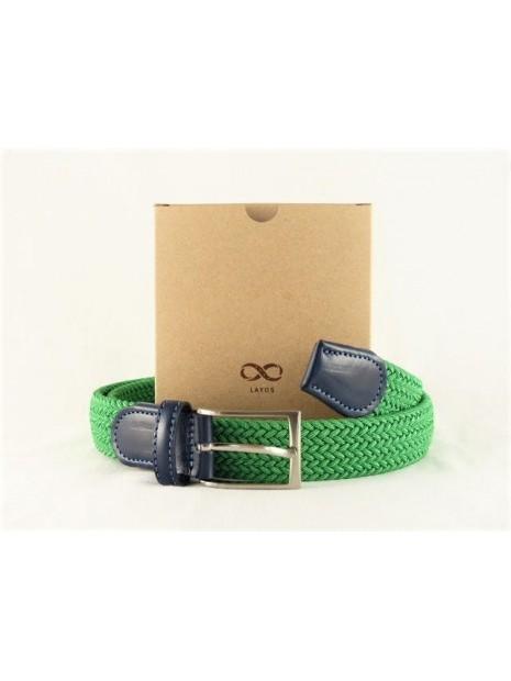 LAYOS Cinturón elástico verde